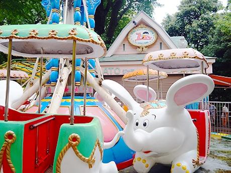 上野公園のこども遊園地、70年の歴史に幕 正門広場整備工事で