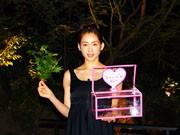 綾瀬はるかさん、新梅田シティで映画「ホタルノヒカリ」PR-ホタル放流イベントも