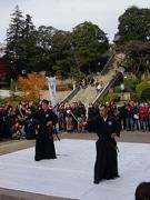 宇都宮で「二荒山神社演武」 新選組ゆかりの剣術を披露