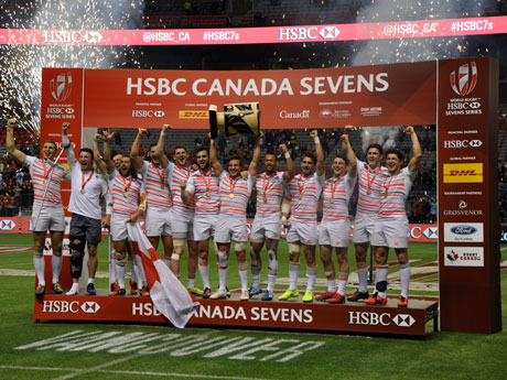 ラグビーセブンズ・カナダ大会、イングランドが南アフリカ下し優勝 日本は14位