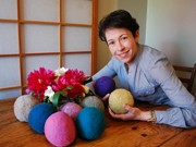 Hand-made 'Dryer Ball' by Couple in Vancouver, Order Increased rapidly -Decreasing Drying Time