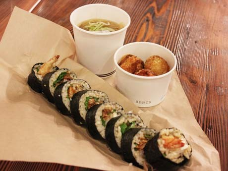 Custom-made Sushi Roll Restaurant in Vancouver -Limited Ingredients for 'Successful' Sushi