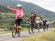 和歌山・紀の川市でピンクリボンサイクリング 「花と食」を楽しむコースを提案