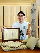 山形の畳店がロハスデザインアワード大賞受賞 洋室でも使える畳プロダクトで