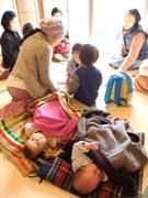 宇部・万倉ふれあいセンターで「お産カフェ」 妊婦・子育てママが情報交換