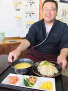 宇部の食堂に新メニュー「女子つけ麺」 カルボナーラ味のつけ麺