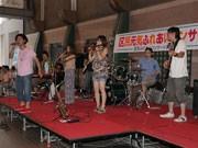 新世界で「区民元気ふれあいコンサート」-ゲストにソウルストーン&Co.