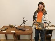新世界のギャラリーで「不思議動物の作品展」-海洋堂の造形師が制作