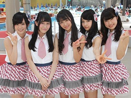 スパプーに登場した山本彩さん、矢倉楓子さん、白間美瑠さん、村瀬紗英さん、渋谷凪咲さん