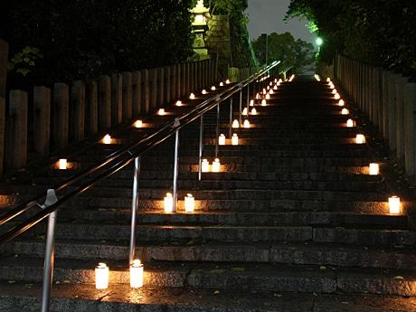 「お寺のまち de キャンドルナイト」(写真=大江神社)