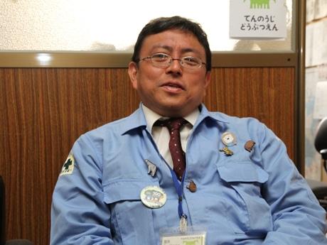 天王寺動物園の園長に就任した牧慎一郎さん