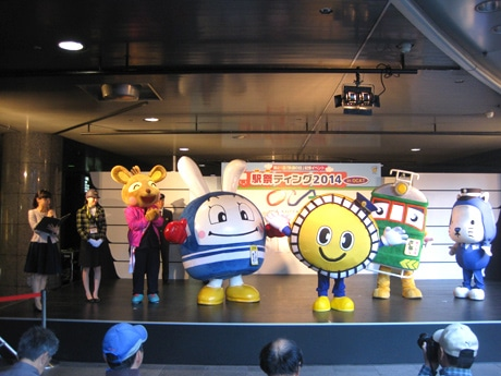 駅祭ティング(OCATで開かれた昨年の様子、主催者提供)
