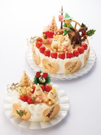 「ムーミン谷のクリスマス」(上)と「ポアール・ムーミンデコ」 ©Moomin Characters TM