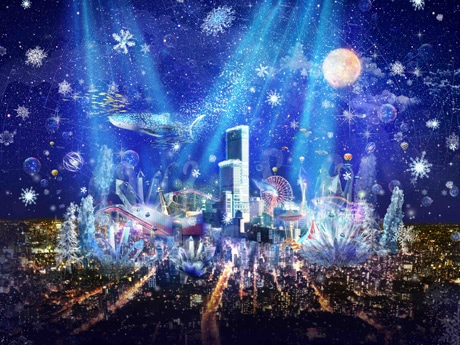 「CITY LIGHT FANTASIA by NAKED-ハルカス300」のイメージ