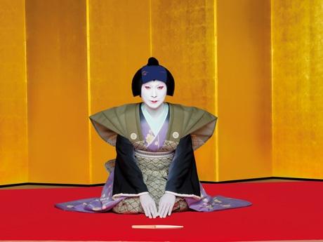 通天閣で恒例「節分福豆まき」 歌舞伎役者の中村芝雀さんら招き