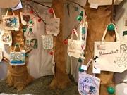天王寺のギャラリーで企画展「エコバッグの森」 60点展示