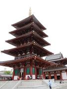四天王寺・五重塔の改修工事が完了 聖徳太子の千四百年御聖忌に向け