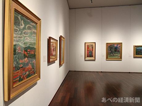 「拝啓ルノワール先生 -梅原龍三郎が出会った西洋美術」の会場
