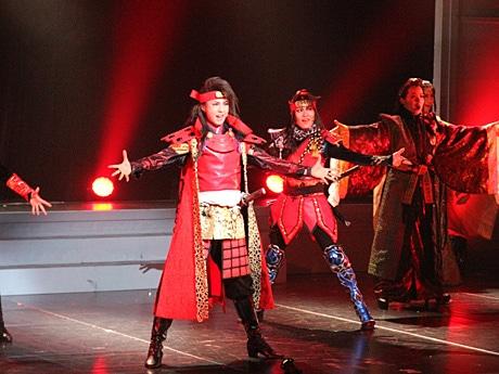 REVUE JAPAN ~GEISHA&SAMURAI~(1月27日のプレ公演で)