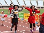「大阪マラソン」ファンランに岡崎朋美さん・宇都宮まきさん 仮装ランナーも