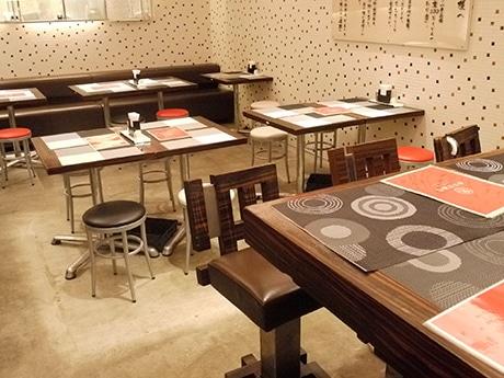 香川製麺所阿倍野店の店内