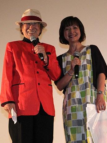 あべのアポロシネマで浜村淳さんトークショー 「メアリと魔女の花」試写会で