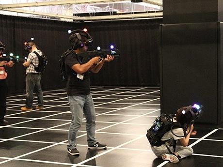 VRアトラクション施設「SEGA VR AREA ABENO」