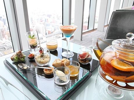 大阪マリオット都ホテルで期間限定「アフタヌーンティー」 セイボリーとデザート