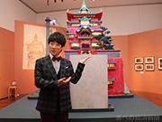 あべのハルカス美術館で「ジブリの立体建造物展」 背景画など450点