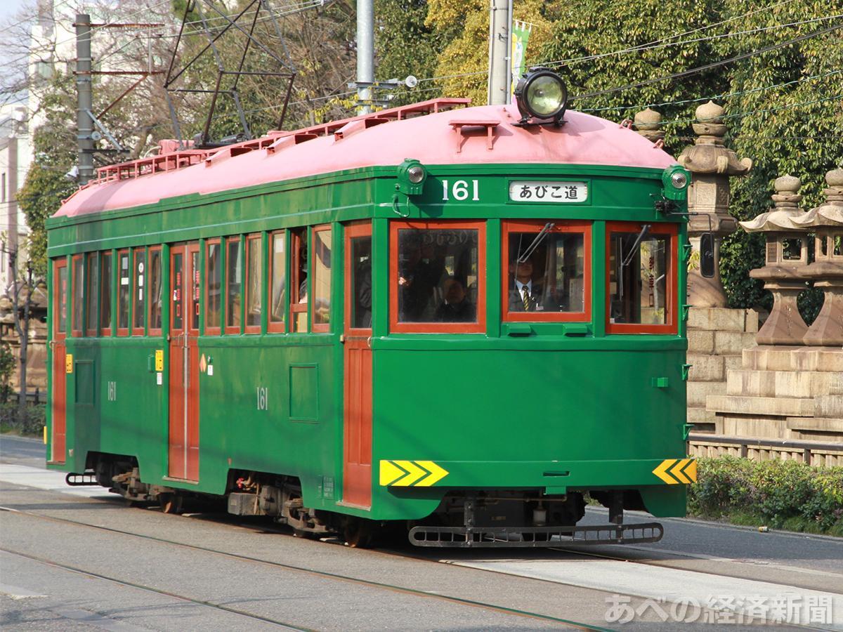 阪堺電車のモ161形車