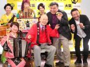 通天閣で「大阪フィギュアみやげ」発売記念イベント 「551蓬莱の豚まん」など