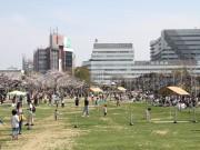 天王寺公園「てんしば」の総入園者数が1000万人突破 2年6カ月で