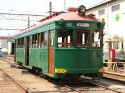 阪堺電車「モ161形ビアトレインツアー」開催へ 今年就役90周年の非冷房車で