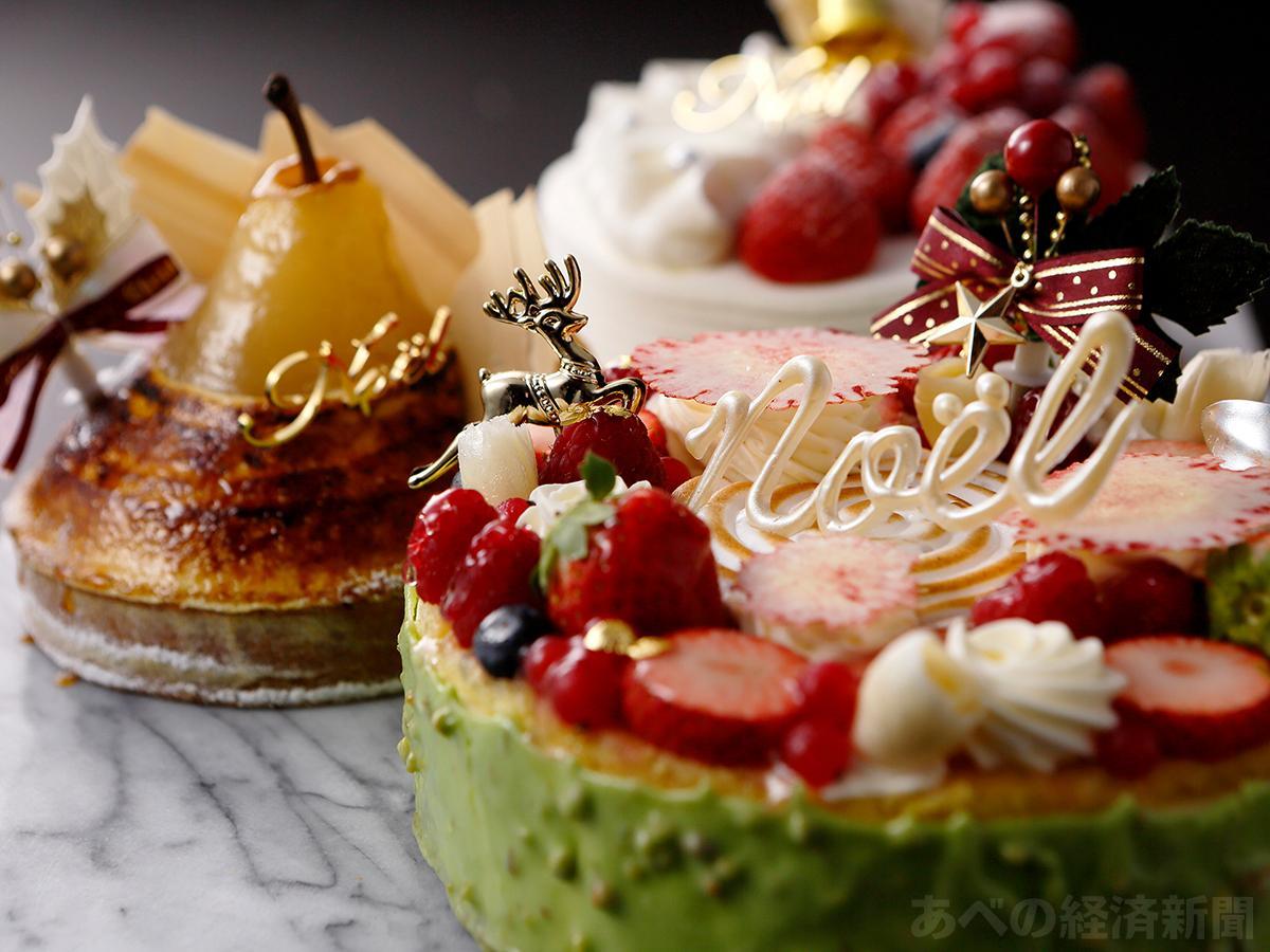 大阪マリオット都ホテルのクリスマスケーキ