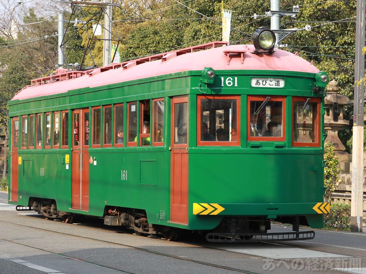 阪堺電車「モ161形車」