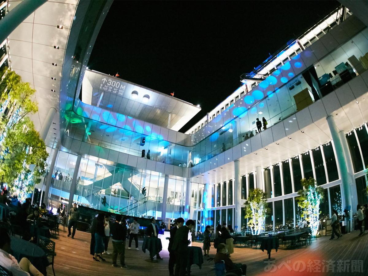 展望台「ハルカス300」でディスコイベント(写真=ディスコイベントのイメージ、近鉄不動産提供)
