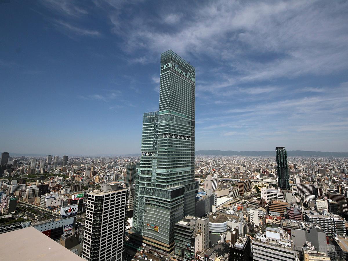 日本一高いビル「あべのハルカス」