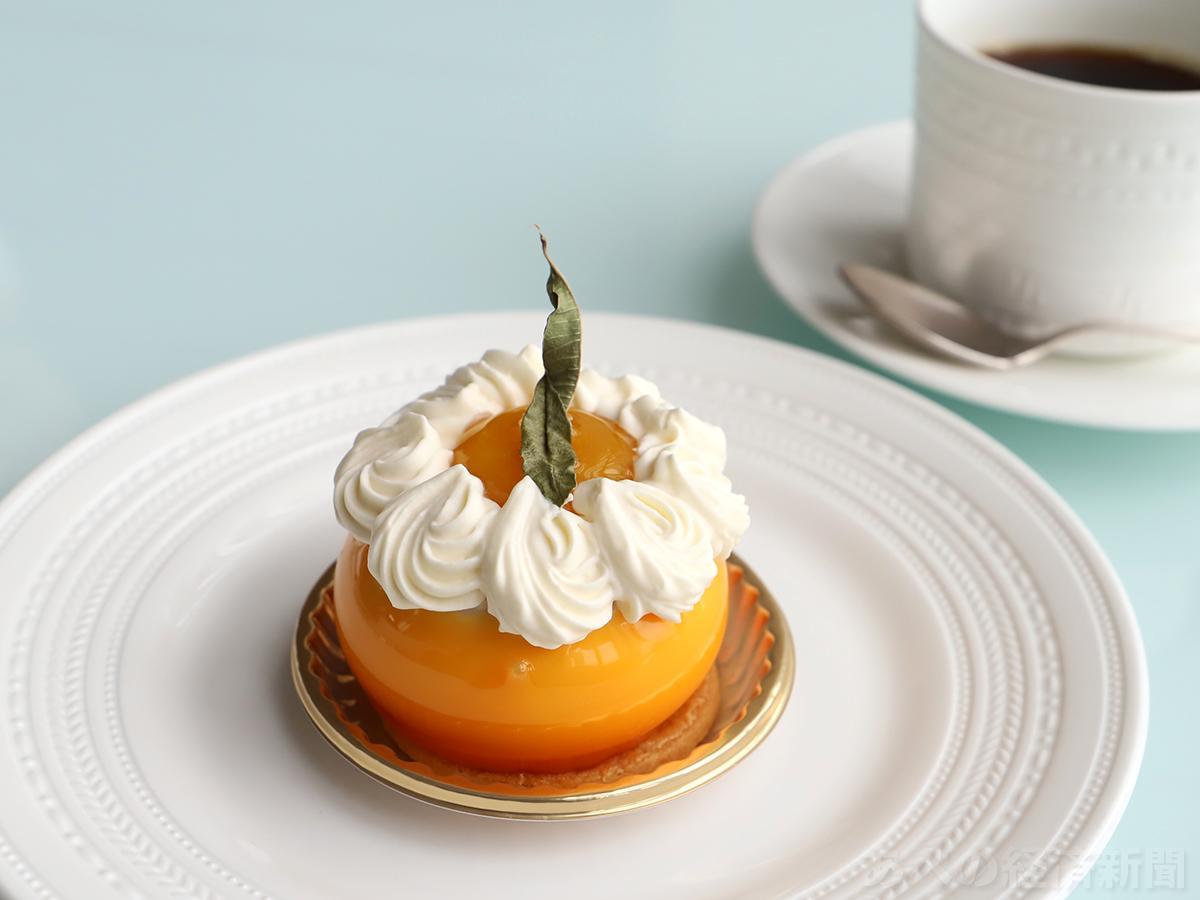 「クープ ドゥ ロランジュ」のケーキセット