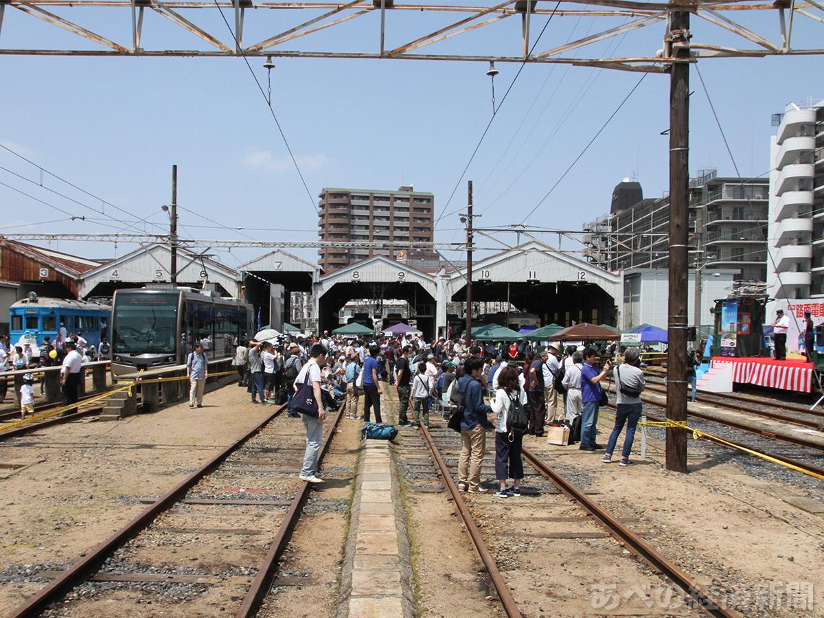 阪堺電車「路面電車まつり」(昨年の様子)