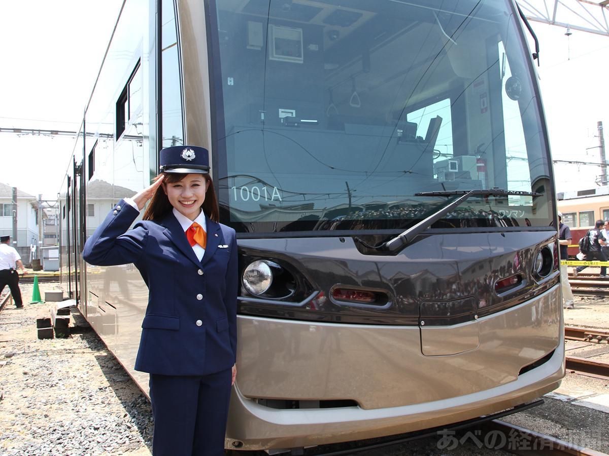 斉藤雪乃さん(2013年の路面電車まつりで)