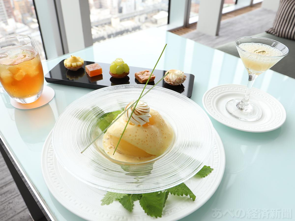桃を使った期間限定デザート「ル メニュ ドゥ ペッシュ」