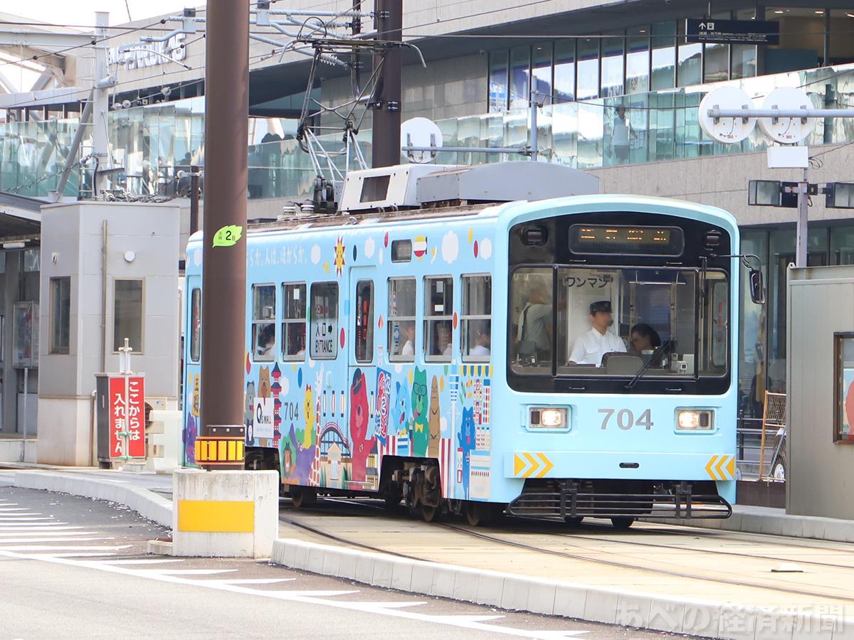 阪堺電車(車両はイメージ)