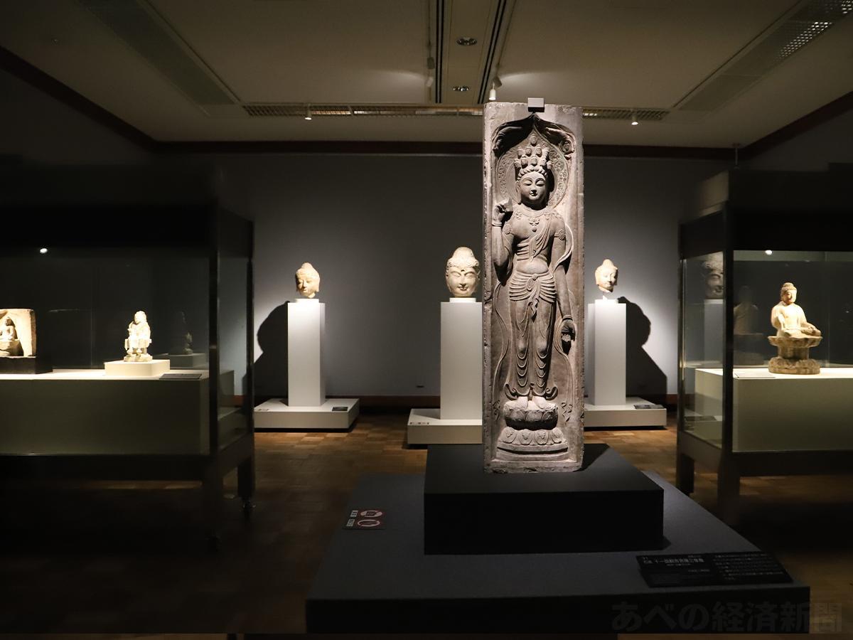 特別展「仏像 中国・日本」の会場