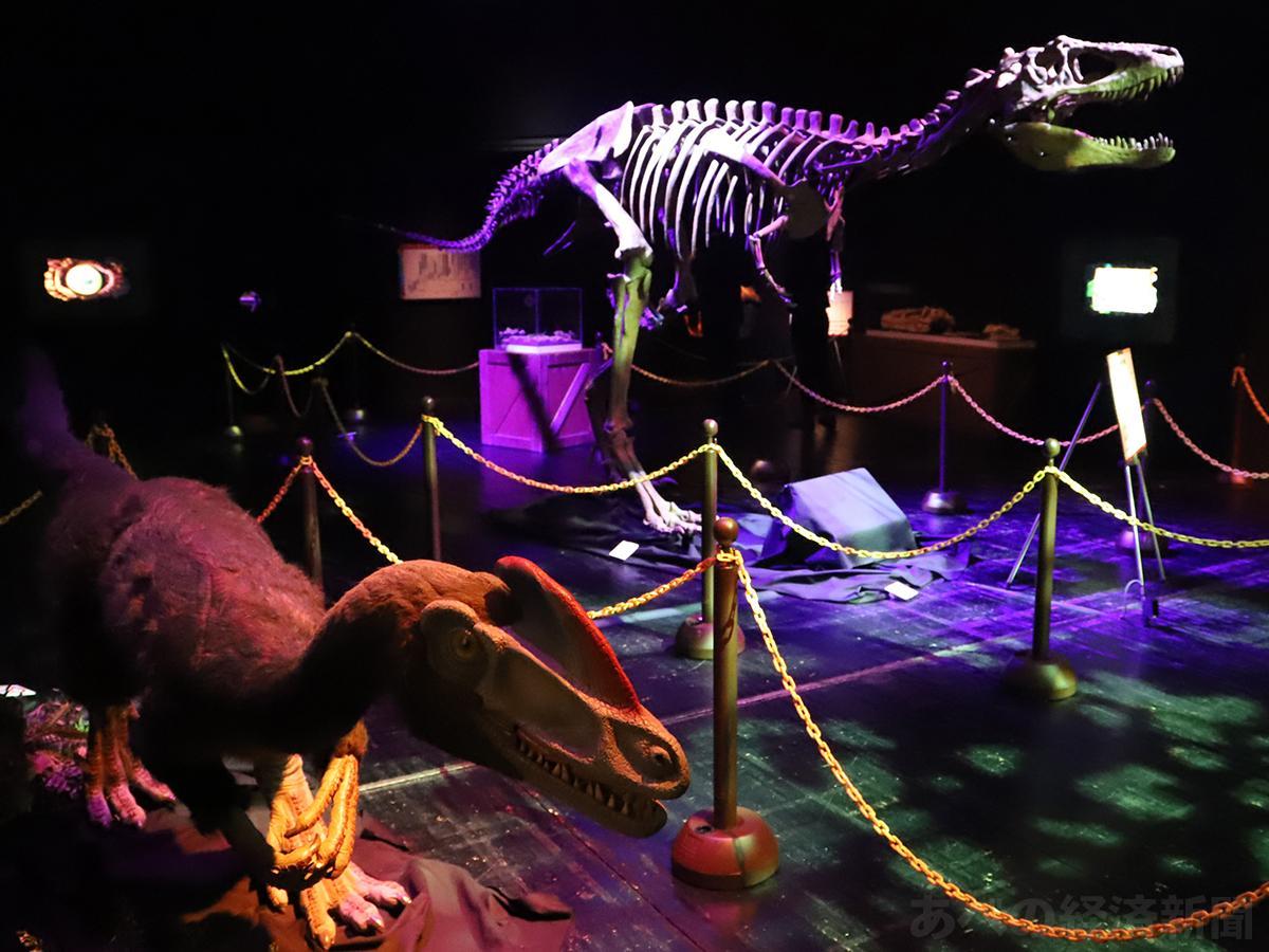 「ナイト恐竜VSティラノ」の会場