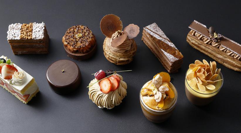 カカオを使った10種類のケーキ(エムブティック)