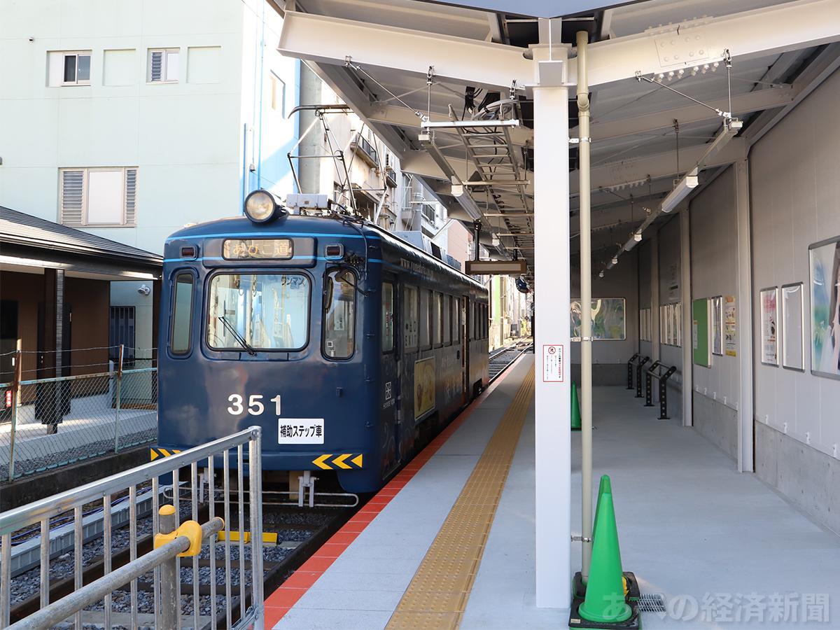 阪堺線・恵美須町駅の新駅舎