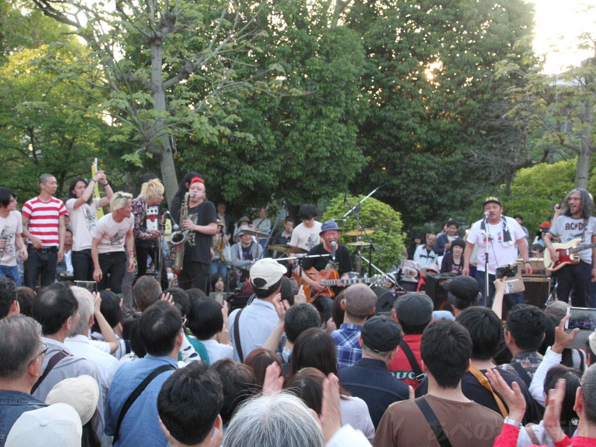 「どっぷり、昭和町。」での音楽ライブ(以前開催時の様子)
