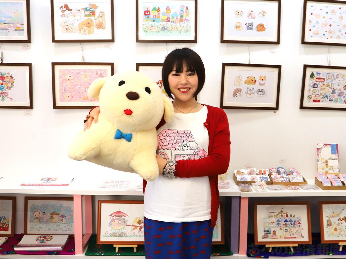 イラストレーターの犬田いぬらさん