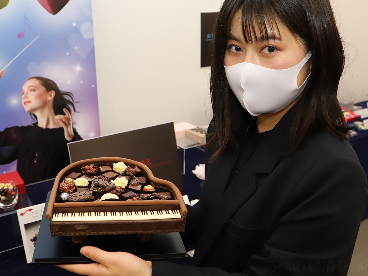 ポアールのグランドピアノ(1月8日の内覧会で)