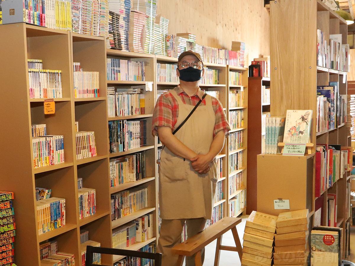 「大吉堂」の店主・戸井律郎さん